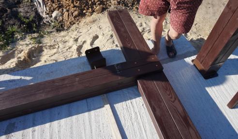 Изготовление деревянных конструкций - монтаж шаг 2