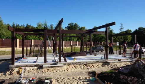 Изготовление деревянных конструкций - монтаж шаг 4