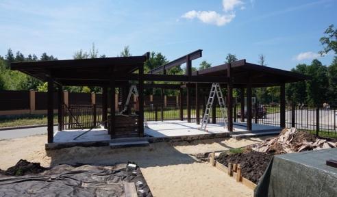 Изготовление деревянных конструкций - монтаж шаг 3