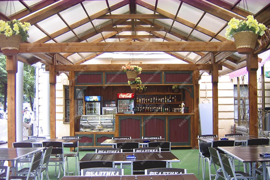 Летние веранды для кафе 04284