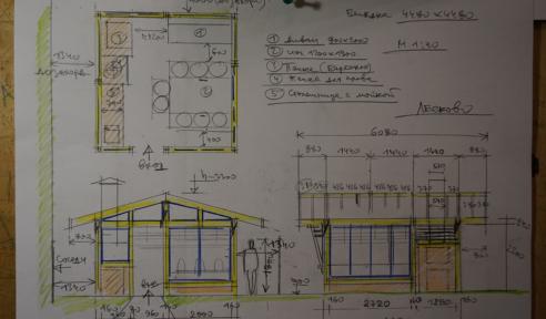 Проектирование беседки - шаг 1