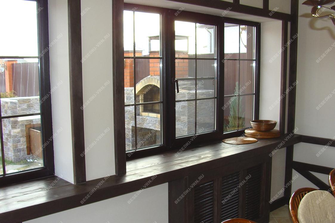 Мебель предметы интерьера беседки окно