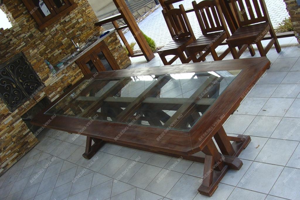 Мебель предметы интерьера беседки стол стекло